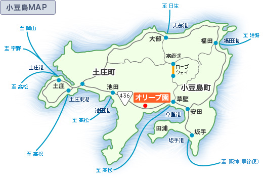 小豆島MAP